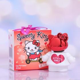 Душистая вода для девочек Sweety kitty, Emily, 20 мл