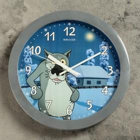 """Часы настенные, серия: Детские, """"Заходи, если что"""", 28х28 см микс"""