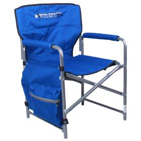 Кресло складное КС1, 49 х 49 х 72 см, цвет синий Ош