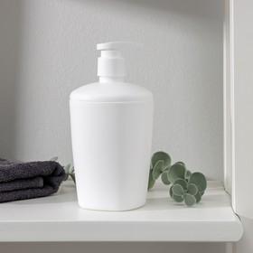 Дозатор 300 мл 'Aqua', цвет снежно-белый Ош