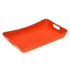 Поднос «Funny», 42,2×28,2×5,2 см, цвет оранжевый