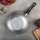 Сковорода-Wok, d=26 см, алюминиевая крышка - Фото 5