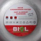 Казан походный «Туризм», 4 л, d=24 см, с двумя алюминиевыми ручками и крышкой - Фото 4