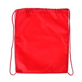 Мешок для обуви Стандарт 420 х 350 мм, цвет Красный Calligrata Ош
