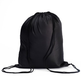Мешок для сменной обуви универсальный, 405 х 340 мм, СДС-2, чёрный Ош