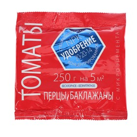 Удобрение LETTO томаты, перцы, баклажаны 0,25 кг