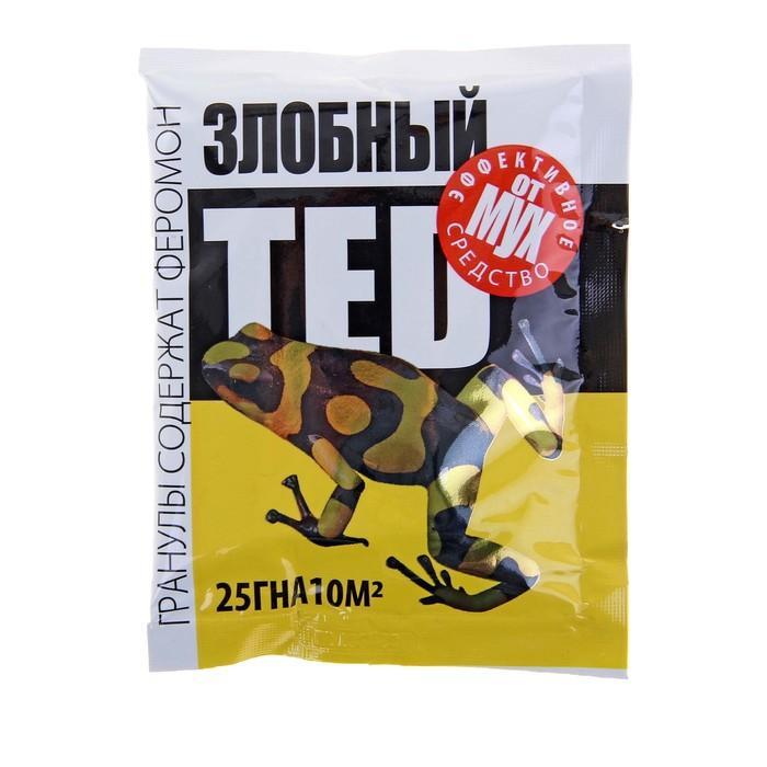 купить Гранулы от мух Злобный TED, с феромоном, пакет, 25 г