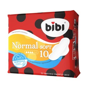 Прокладки «BiBi» Normal Soft, 10 шт