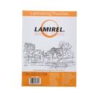 Пленка для ламинирования 100шт Lamirel А4, 100мкм