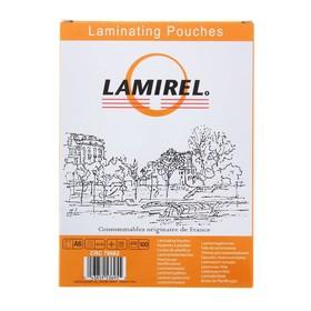 Пленка для ламинирования 100шт Lamirel А6, 125мкм