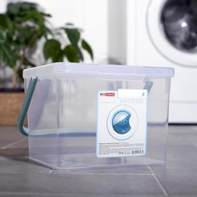 Контейнер для стирального порошка 3,5 л, цвет прозрачный Ош