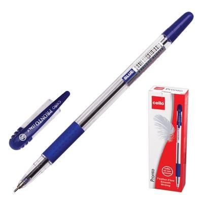Ручка шариковая Cello PRONTO, стержень синий, узел 0.6 мм - Фото 1