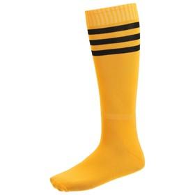 Гетры футбольные, безразмерные, цвет оранжевый Ош