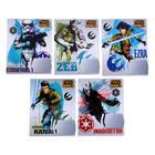 Тетрадь 12 листов линейка Star wars, обложка мелованный картон, полный УФ-лак, МИКС
