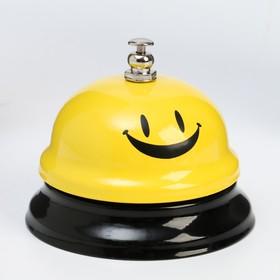 Звонок настольный 'Смайл', 6х7.5 см, Ош