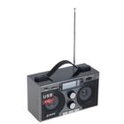Радиоприемник БЗРП РП-306, SD/MMC, USB, слот для наушников, стереозвук