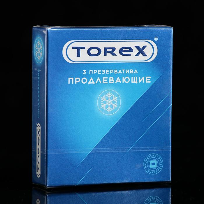 Презервативы «Torex» Продлевающие, 3 шт