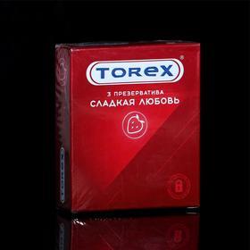 Презервативы «Torex» Сладкая любовь, 3 шт Ош