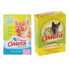Лакомство Омега Neo для кошек и котят, таурин/L-карнитин, 60 табл.