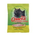 Лакомство Омега Neo для кошек и котят, таурин/L-карнитин, саше 15 табл.