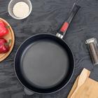 Сковорода 28 см «Домашняя», съёмная ручка - Фото 1