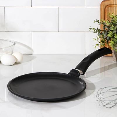 Сковорода блинная «Литая», d=24 см - Фото 1