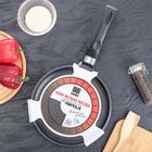 Сковорода блинная «Литая», d=24 см - Фото 7