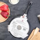 Сковорода блинная «Литая», d=24 см - Фото 8