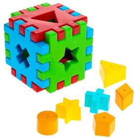 Игрушка развивающая «Волшебный куб», 12 элементов