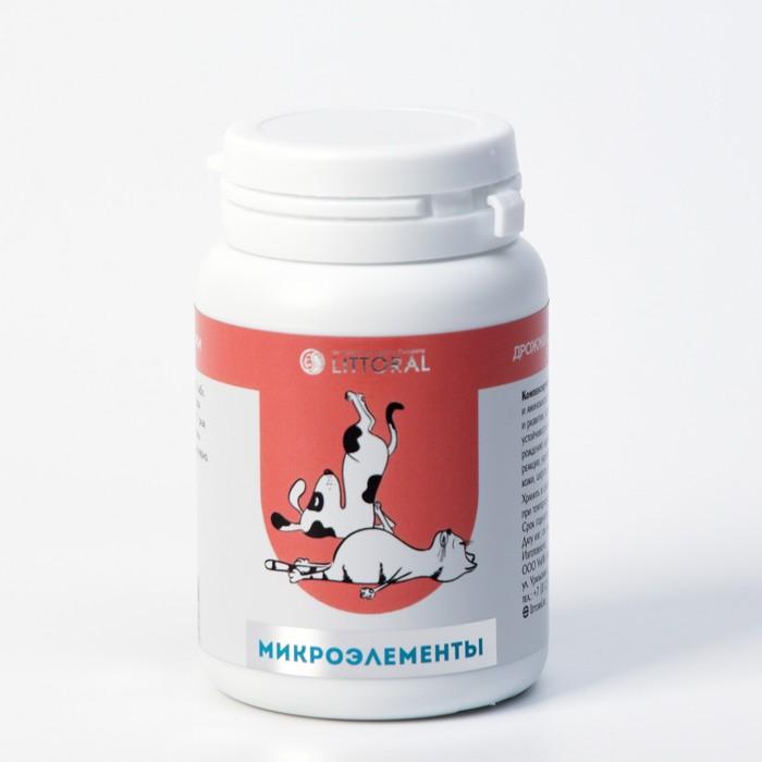 Пивные дрожжи с микроэлементами для кошек и собак, 80 таб