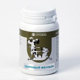 Пивные дрожжи 'Здоровый желудок'  для кошек и собак, с энтеросорбентом, 80 таб Ош