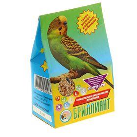 Корм 'Бриллиант' для попугаев, с растительно-минеральными добавками, 400 г Ош