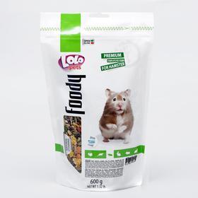 Корм для хомяков LoLo Pets полнорационный, дойпак 600 г