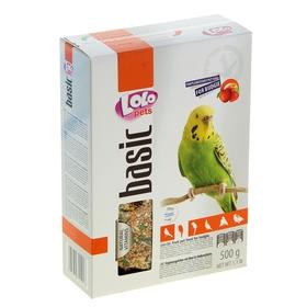 Корм фруктовый LoLo Pets для волнистых попугаев, 500 г.