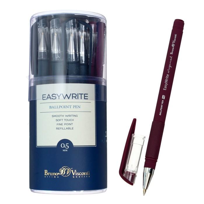 Ручка шариковая EasyWrite. Original, узел 0.5 мм, стержень синий, МИКС