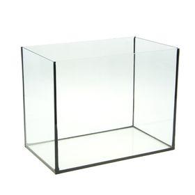 Аквариум прямоугольный без крышки, 35 литров, 42 x 25 x 33 см Ош