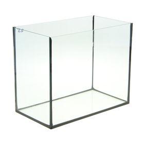 Аквариум прямоугольный без крышки, 25 литров, 38 x 21 x 31 см