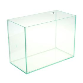 Аквариум прямоугольный без крышки, 15 литров, 34 x 17 x 25 см