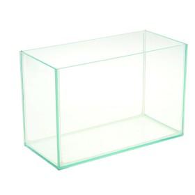 Аквариум прямоугольный без крышки 10л, 32x15x21 см Ош