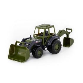 Трактор-экскаватор «Мастер» военный