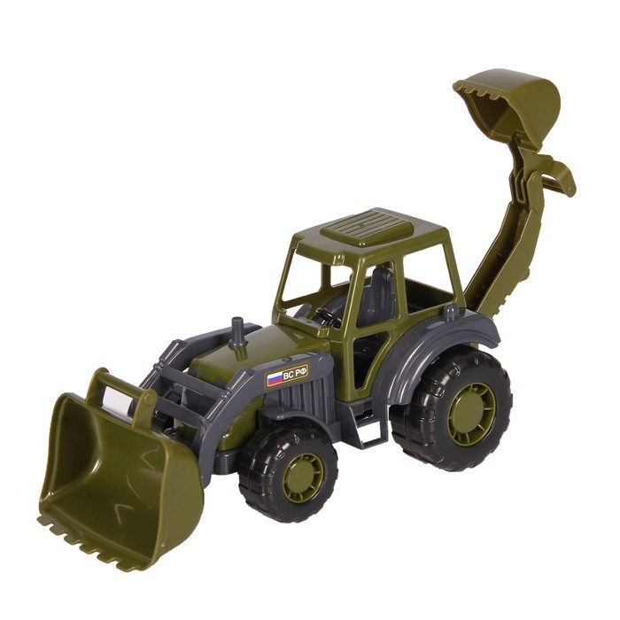 купить Трактор-экскаватор Мастер военный