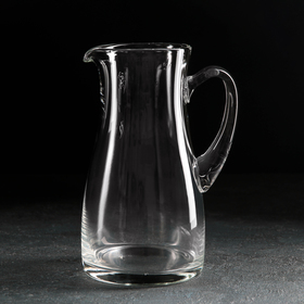 Кувшин НЕМАН «Прозрачный», 1,2 л, без крышки