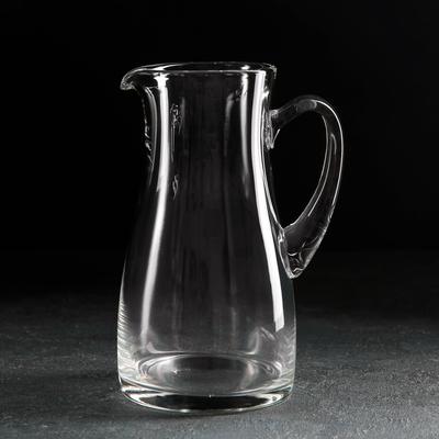 Кувшин НЕМАН «Прозрачный», 1,2 л, без крышки - Фото 1