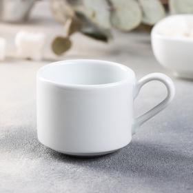 Чашка кофейная Практик «Бельё», 90 мл, штабелируемая