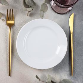 Тарелка мелкая «Бельё», d=17 см