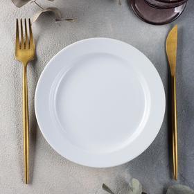 Тарелка мелкая «Бельё», d=17,5 см