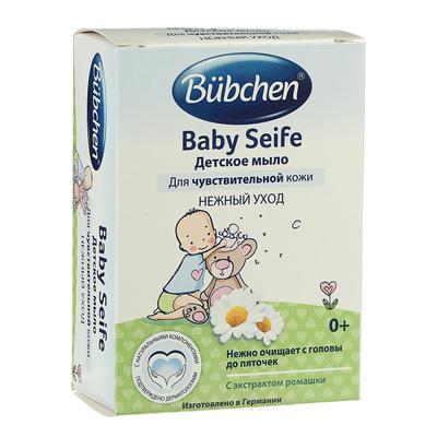 Мыло детское Bubchen с экстрактом ромашки, с рождения, 125 г - Фото 1