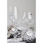 Набор бокалов для вина Bohemia Crystal «Турбуленция», 550 мл, 2 шт - Фото 3