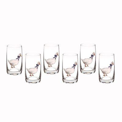 Набор стаканов для воды «Идеал», 250 мл 6 шт.
