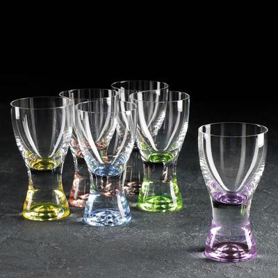 Набор стаканов Bohemia Crystal «Самба», 200 мл, 6 шт